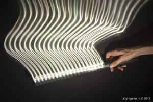 Светодиодный стик белого цвета