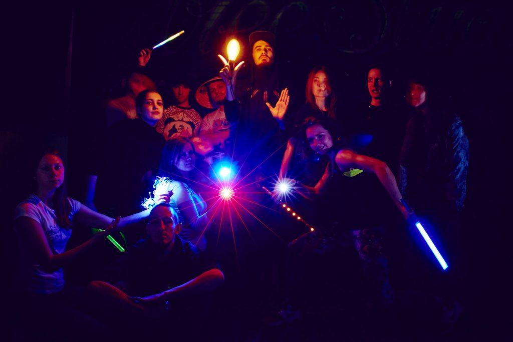 Состоялась открытая фризлайт ночь в первые часы весны 2015!