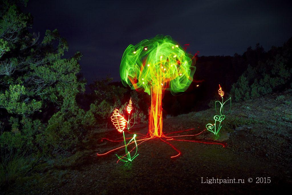 Фризлайт картина - The flame of life-Пламя жизни