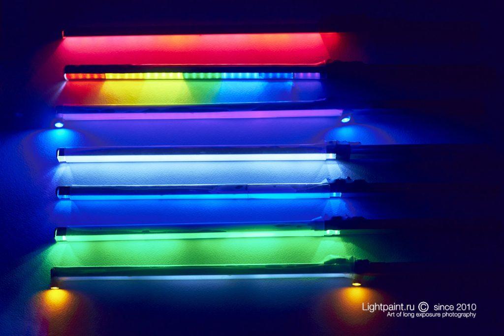 Фонарики для рисования светом (light painting tool)