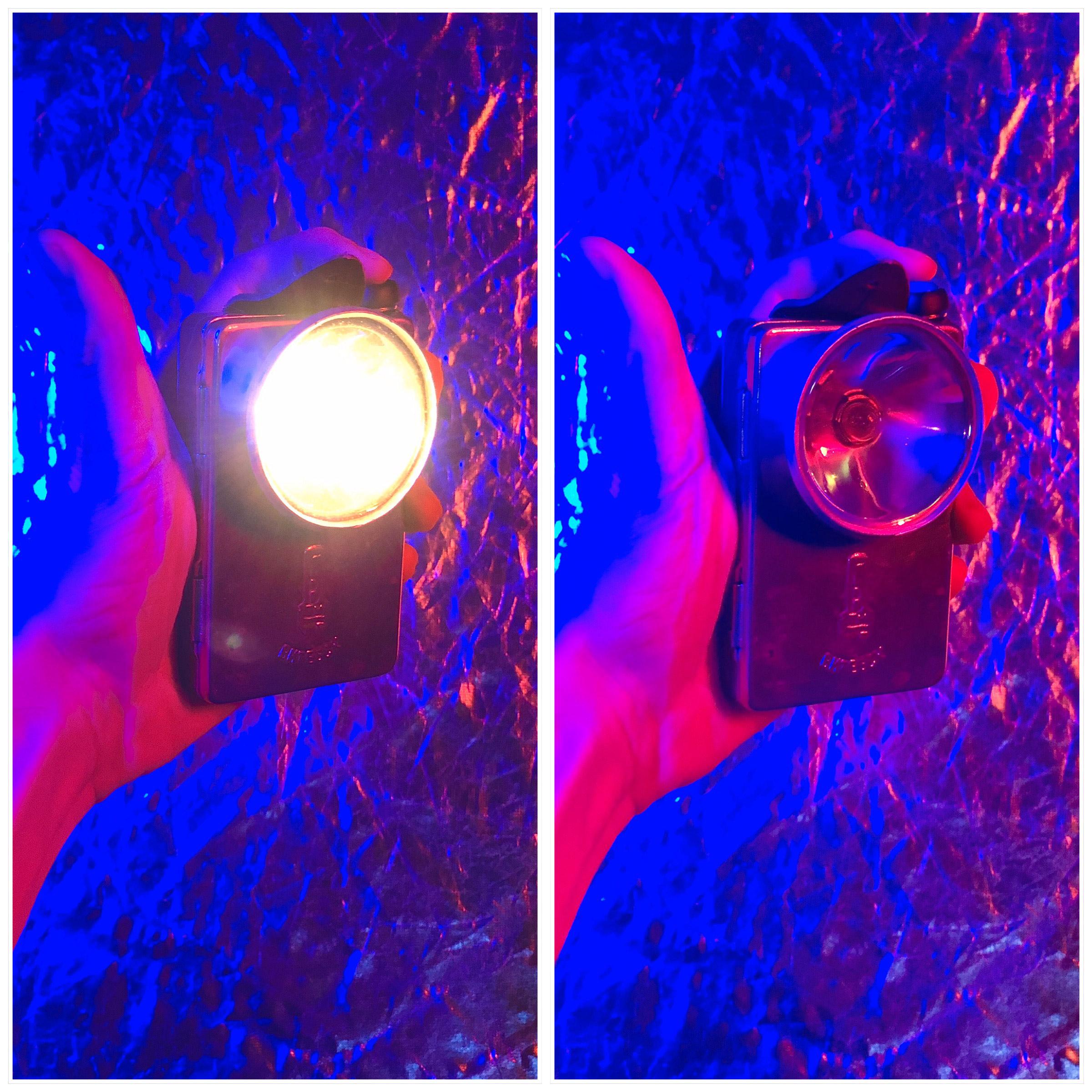 Ламповый фонарик для рисования светом - Витебск